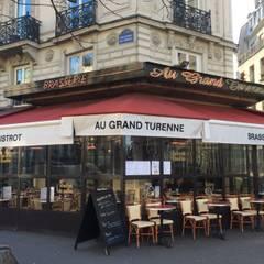 Le Grand Turenne - Façade: Maisons de style de style Classique par Atelier d'architecture ASTA