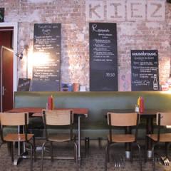 Le Kiez - Restaurant: Restaurants de style  par Atelier d'architecture ASTA