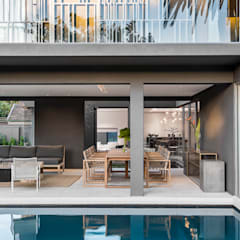 Family Home, Cape Town :  Pool by GSQUARED architects
