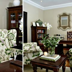 colonial Study/office by Joseph Avnon Interiors