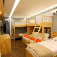 tropische Slaapkamer door Studio Prima Arq & Design