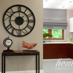 Kolonialny vintage: styl , w kategorii Kuchnia zaprojektowany przez Home Atelier,