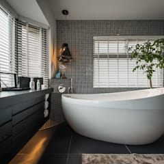 Bathroom by 存果空間設計有限公司
