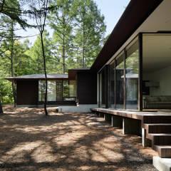 046軽井沢Hさんの家: atelier137 ARCHITECTURAL DESIGN OFFICEが手掛けた家です。