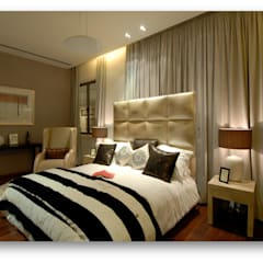 Some Previous Works: eclectic Bedroom by BVM Intsol Pvt. Ltd.