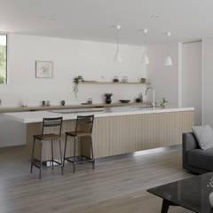 048君津Sさんの家: atelier137 ARCHITECTURAL DESIGN OFFICEが手掛けたキッチンです。