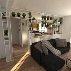 Aménagement d'une maison: Salon de style de style Minimaliste par La Fable