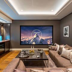 RBD Architecture & Interiors, Kensington & Chelsea project:  Media room by RBD Architecture & Interiors