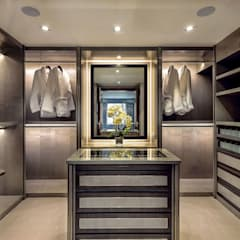 Vestidores y closets de estilo  por RBD Architecture & Interiors