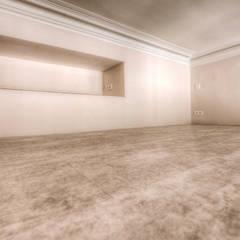 6 - Mezzanine: Chambre de style de style eclectique par Atelier Claire Dupriez