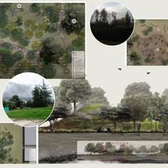 BIOREFUGIO COLEGIO LOS NOGALES: Jardines de estilo  por concepto verde SAS