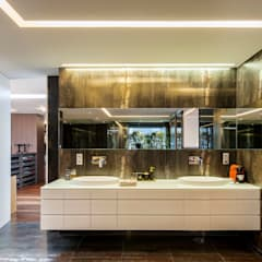Casas de banho modernas por INAIN Interior Design Moderno