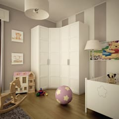 Dormitorios infantiles de estilo  por MC Rendering Solution