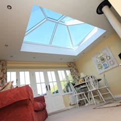 Aluminium Roof Lantern (Korniche):  Conservatory by Premier Roof Systems