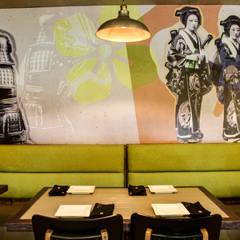 Kaio: Restaurantes de estilo  por AG arquitectos