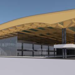 Terminal aéreo, Tarapoto, Perú (Propuesta) de MGR Moderno