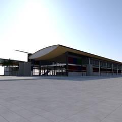 Terminal Aéreo Pucallpa, Perú (Propuesta) de MGR Moderno