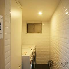 601 Guest House 강남: Design Daroom 디자인다룸의  차고