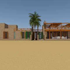 Casa de Campo, Lunahuaná, Cañete, Lima: Casas de estilo  por MGR