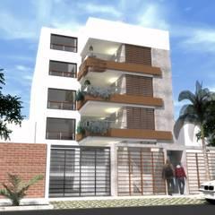 Doña Amalia 240, Surco, Lima: Casas de estilo moderno por MGR