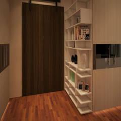 Dempo House: Ruang Ganti oleh FerryGunawanDesigns, Modern