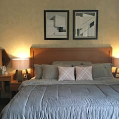 Interior Residential - Pomentia Residence: Kamar Tidur oleh RANAH,