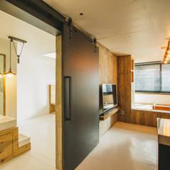modern Living room by 므나 디자인 스튜디오