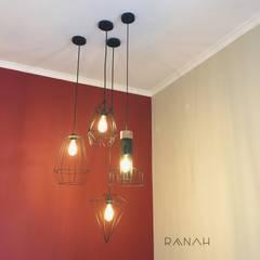 Interior Residential - Pomentia Residence:  Koridor dan lorong by RANAH