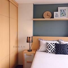 Studio Apartment - Bintaro Plaza Residence: Kamar Tidur oleh RANAH,