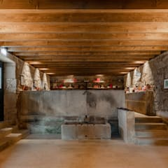 Wine cellar by PROD Arquitectura & Design, Rustic