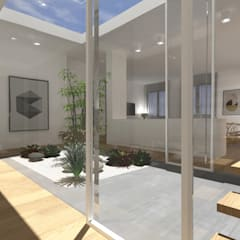 بيت زجاجي تنفيذ roberto sarda architetto