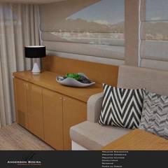 Ferretti 530: Iates e jatos  por Levolú Interiores e Arquitetura