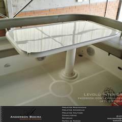 Antes: Iates e jatos  por Levolú Interiores e Arquitetura
