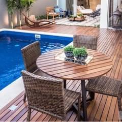 Zwembad door Bortoluzzi Arquitetura