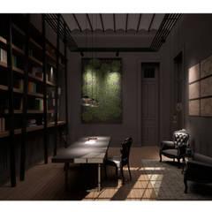 Estudio: Estudios y oficinas de estilo  por DZ NZ Arquitectos