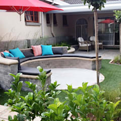 New outdoor room for Pieter and Annelize:  Garden by Gorgeous Gardens