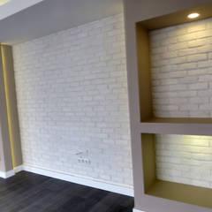 MİMPERA – Salon Detay: iskandinav tarz tarz Oturma Odası