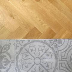 MİMPERA – Seramik Parke Birleşim Detayı: iskandinav tarz tarz Oturma Odası