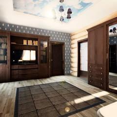 Кантри: Рабочие кабинеты в . Автор – Дизайнер Светлана Юркова