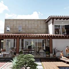 Casas de estilo  por IAD Arqutiectura, Mediterráneo