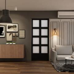:  ห้องนั่งเล่น by 22Augustudio