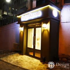 디자인다룸 광장동 사무실: Design Daroom 디자인다룸의  복도 & 현관,클래식