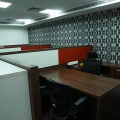 Jakson Power:  Office buildings by hlk infrastructure pvt ltd
