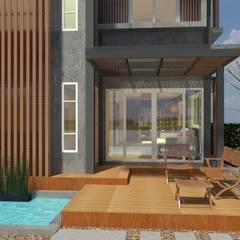 Sukhumvit 50 Residence:  บ้านและที่อยู่อาศัย โดย Aim Ztudio,