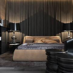 Спальня: Спальни в . Автор – MC Interior