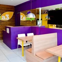 LOJA DE AÇAÍ: Espaços gastronômicos  por Vanessa Lopes arquitetura, urbanismo e interiores
