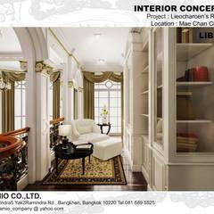 :  ห้องทำงาน/อ่านหนังสือ โดย CASAMIO Co.,Ltd.,