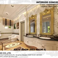 :  ห้องน้ำ by CASAMIO Co.,Ltd.