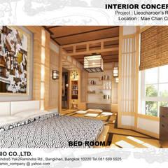 :  ห้องนอน by CASAMIO Co.,Ltd.