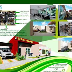 Biblioteca municipal: Escuelas de estilo  por Construcciones y diseños Brihjha